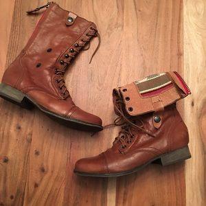 Steve Madden 'Camarro' military boots